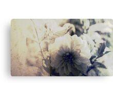 Vintage Flower 1 Canvas Print