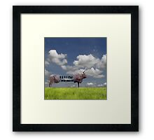Bullish Environment. Framed Print