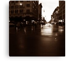 Adelaide streetscape Canvas Print