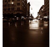 Adelaide streetscape Photographic Print