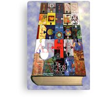 The Book of Books Canvas Print