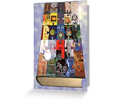 The Book of Books Greeting Card