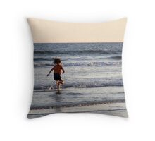 Freedom of a Child Throw Pillow