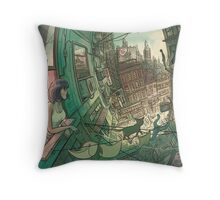 Hott City Throw Pillow