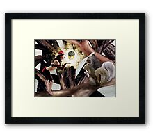 Marry Christmas - Squirrel girl Framed Print