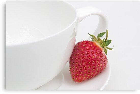 Teatime Strawberry by Ann Garrett