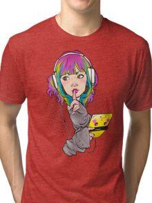 Shhh. Gaming. Tri-blend T-Shirt