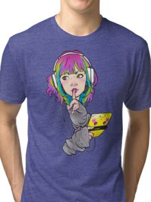 Shhh. Gaming. Tri-blend T-Shirt