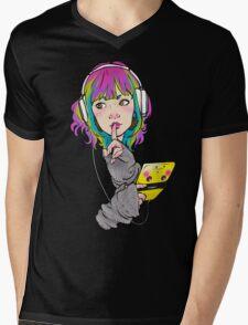 Shhh. Gaming. Mens V-Neck T-Shirt