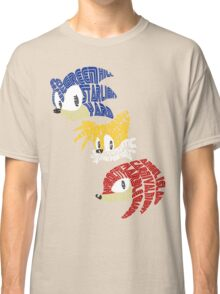 Sonic, Tails & Knuckles Classic T-Shirt