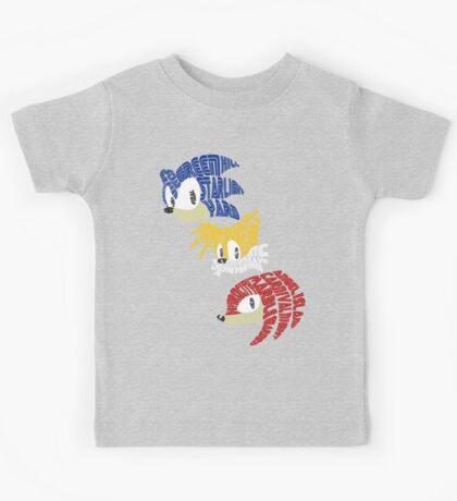 Sonic, Tails & Knuckles Kids Tee