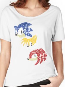 Sonic, Tails & Knuckles Women's Relaxed Fit T-Shirt