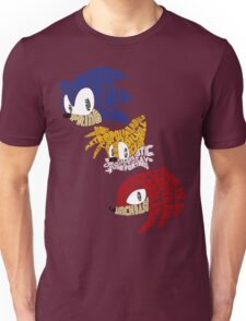 Sonic, Tails & Knuckles Unisex T-Shirt