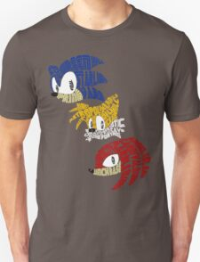 Sonic, Tails & Knuckles T-Shirt