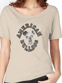Yale The American Bulldog Women's Relaxed Fit T-Shirt