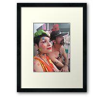 Fabulous people Framed Print