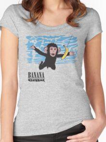 Banana Nirvana Women's Fitted Scoop T-Shirt