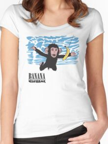 Banana Nirvana Women's Fitted Scoop T-Shirt