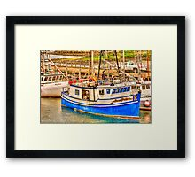 main lobster boats Framed Print