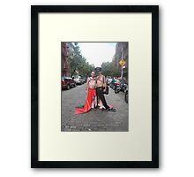 Glamour boys Framed Print