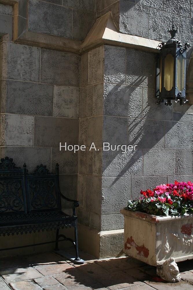 a quiet spot by Hope A. Burger