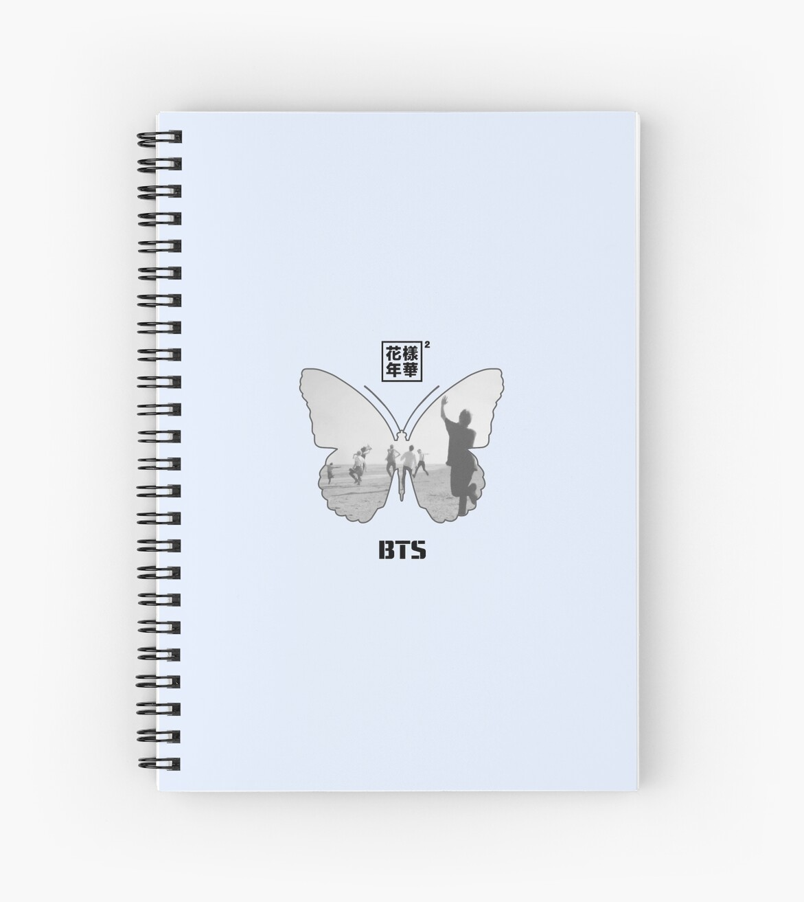 Quot Bts Butterfly Quot Spiral Notebooks By Angelquique Redbubble