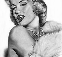 Marilyn Monroe by Candace Wiebe-Nesbit