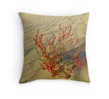 Oregon Dunes Throw Pillow