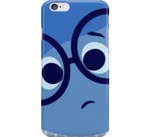 sadness inside out iPhone Case/Skin