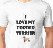 Border terrier love Unisex T-Shirt