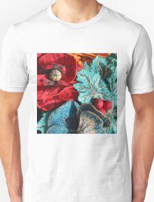 Poppy Machine Embroidery 5 Unisex T-Shirt