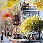 passion for watercolour.. by Almeida Coval