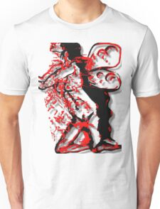 Dark Fairy, Red Haze Unisex T-Shirt