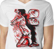 Dark Fairy, Red Haze Mens V-Neck T-Shirt