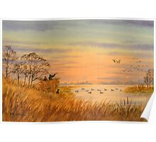 Duck Hunting Calls Poster