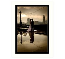 Love in London Art Print