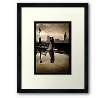 Love in London Framed Print