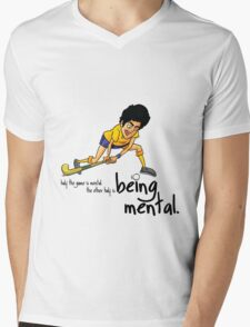 Hockey Mens V-Neck T-Shirt