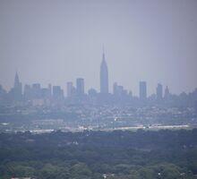New York City Skyline by Sinclere