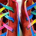 These Boots Were Made For Rainbow Walking by Brian Varcas