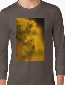 Yellow Rod Macro Long Sleeve T-Shirt