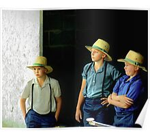Amish Boys Poster