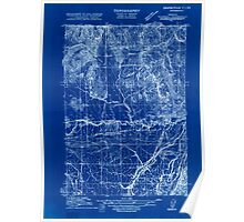 USGS Topo Map Oregon Rickreall 282186 1915 31680 Inverted Poster