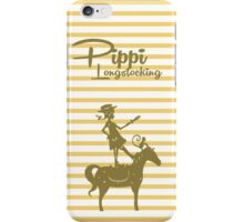 Pippi Longstocking iPhone Case/Skin