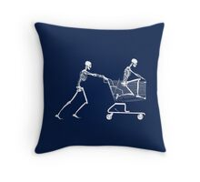 Retail Therapy Throw Pillow
