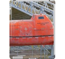 A dirty lifeboat iPad Case/Skin