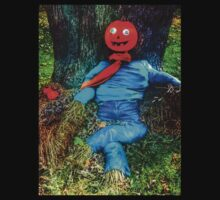 Pumpkin Head Scarecrow by BBrightman