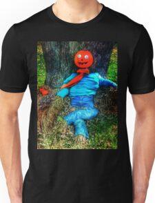 Pumpkin Head Scarecrow Unisex T-Shirt