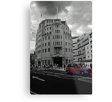 This Is The BBC Metal Print