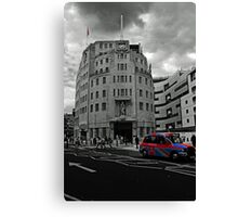 This Is The BBC Canvas Print